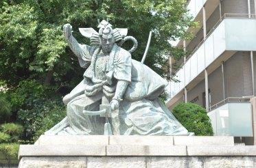 Asakusa Samurai Statue