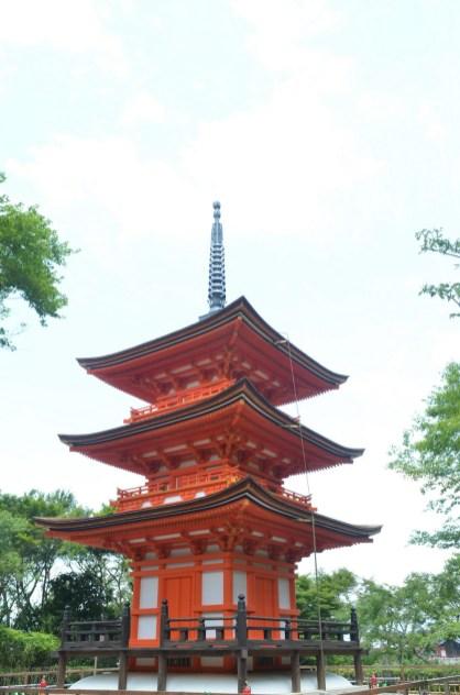 Kiyomizudera Pagoda 2