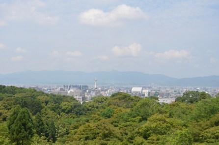 Kyoto from Kiyomizudera