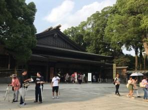 Meiji Jingu Buiding