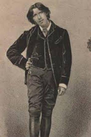 Oscar Wilde con gilet