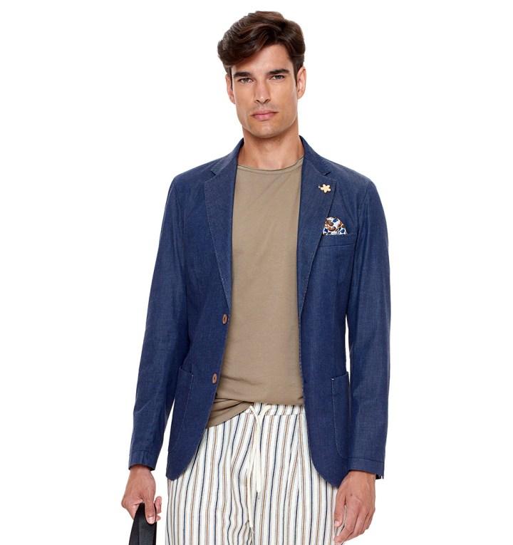 Bellissima giacca in jeans di Paul MIranda - Made in Italy
