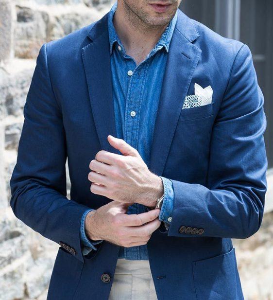 giacca uomo va indossata anche in estate importante che sia leggera