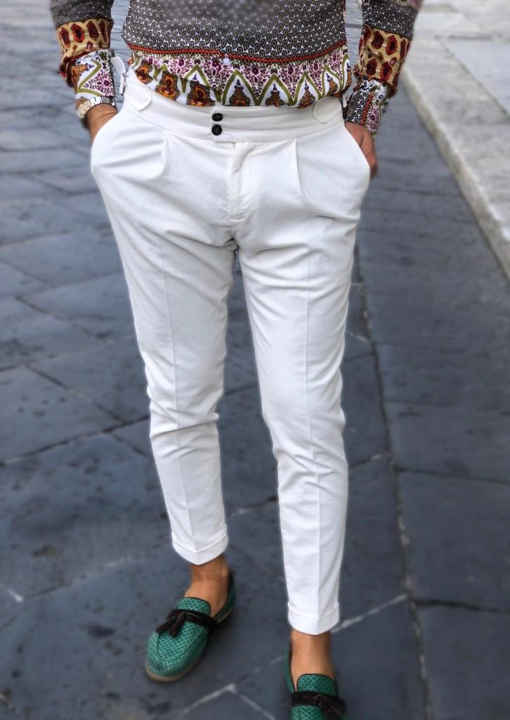 Pantaloni bianchi - Paul Miranda - Gogolfun.it