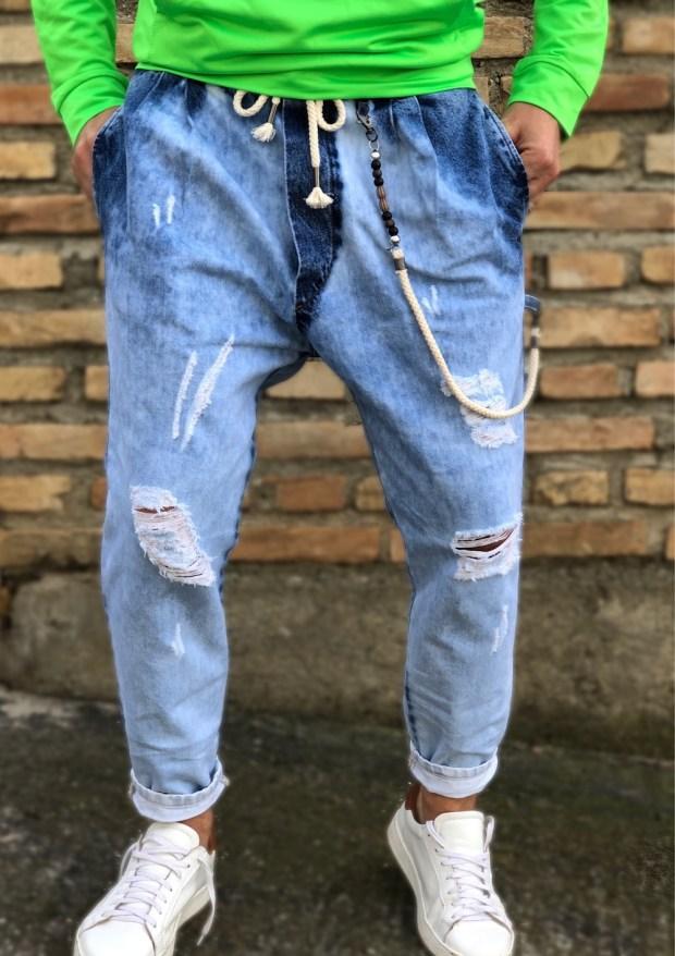 Jeans tuta, over