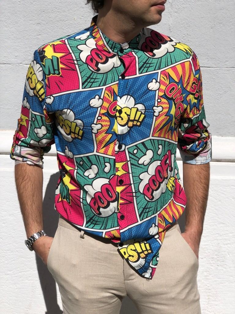 Camicia uomo, Pop solo Gogolfun ve la può far avere