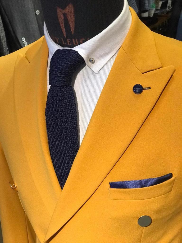 Doppiopetto giallo, fluo