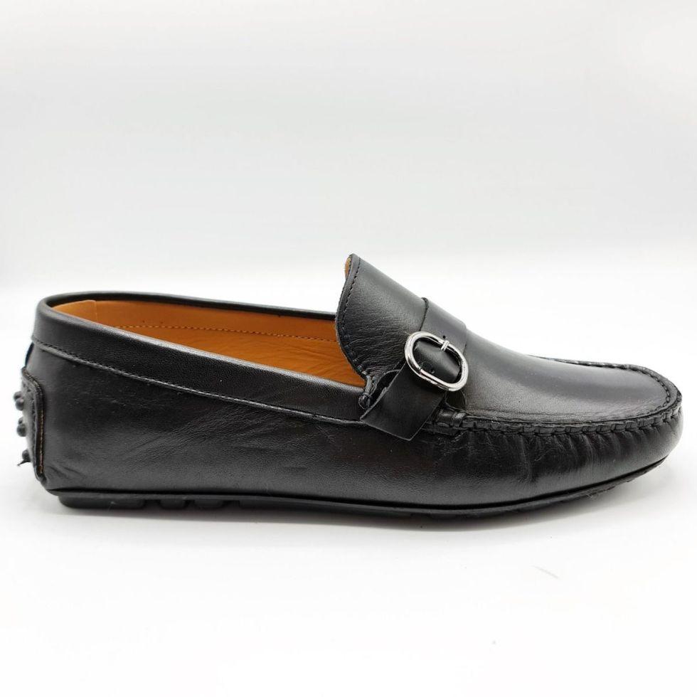 Mocassini neri Made in Italy - Collezione scarpe uomo gogolfun.it