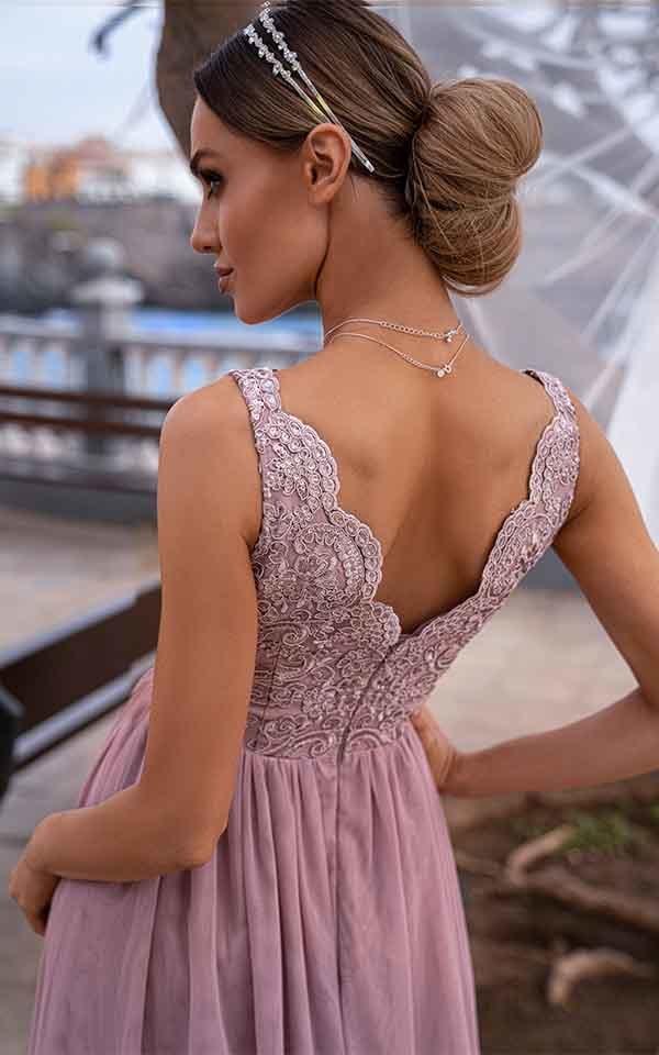 Vestito lungo rosa - Gogolfun.it