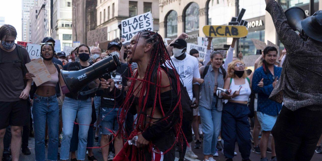 FILMMAKER ELEONORA PRIVITERA ON BLACK LIVES MATTER IN NEW YORK!