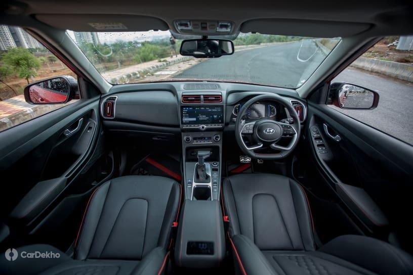 Description: Hyundai Creta cabin (turbo-petrol variant)