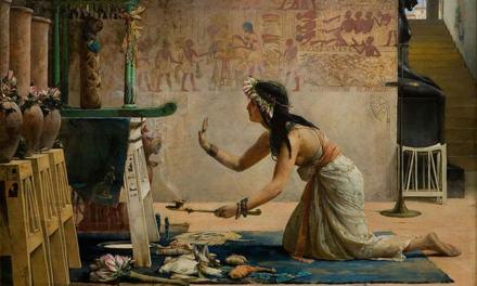EGYPTIANS AND BLACK MAGIC