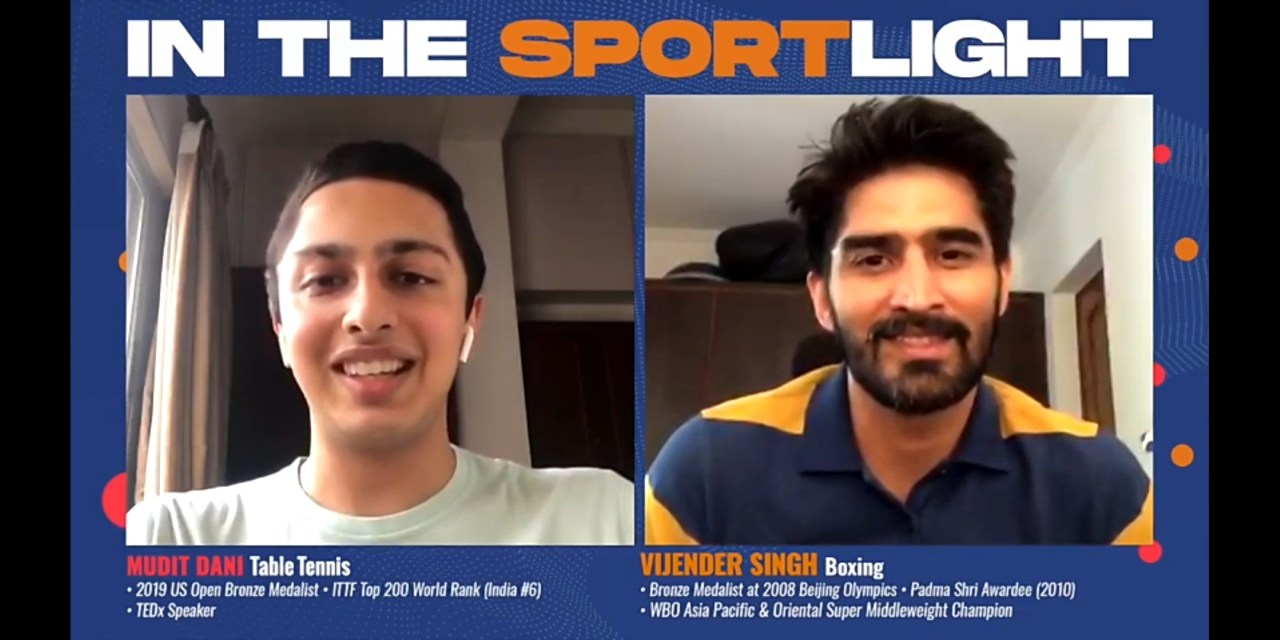 Watching Rathore on the podium inspired me to win Olympic medal, says boxer Vijender Singh