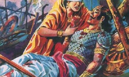 THE MAHABHARATA SAGA – GANDHARI: HER HIGH VALUES AND DARKNESS