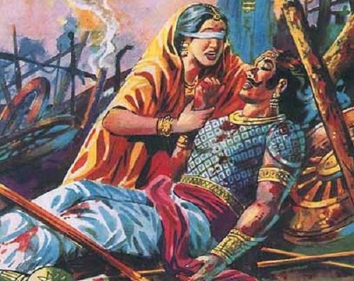THE MAHABHARATA SAGA – GANDHARI: HER HIGH VALUES AND DARKNESS