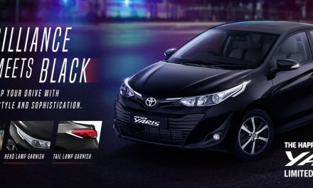 TOYOTA YARIS BLACK EDITION: WHAT IT REALLY OFFERS?