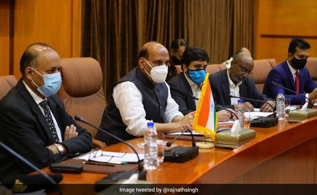 Defence Minister Rajnath Singh meets Iran's General Hatami, discusses bilateral issues