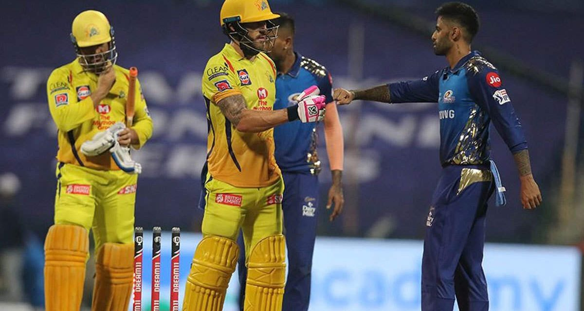 IPL 2020: Powerpack performances mark 5-wicket victory for CSK against MI