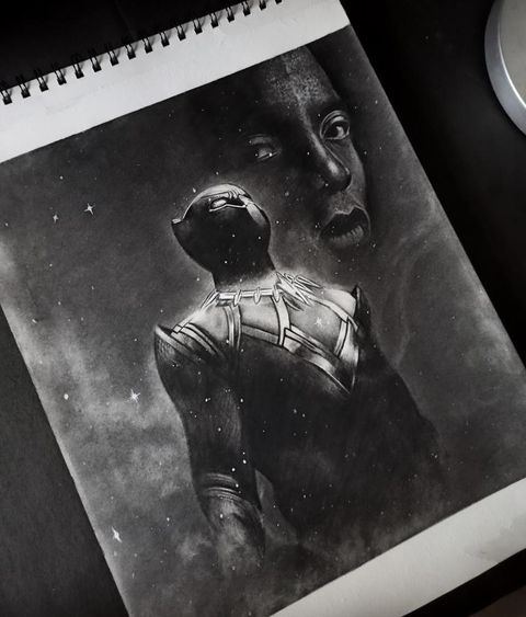 Black Panther @kunstler_of_perfection