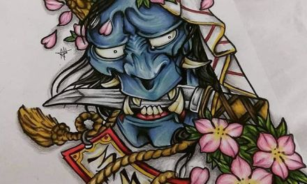 Hannya Mask – @andyy_art