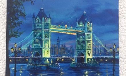 The London Bridge @bhavyapaints