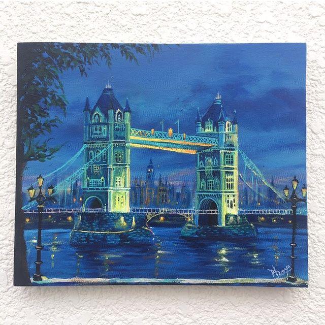The London Bridge @bhavyapaints