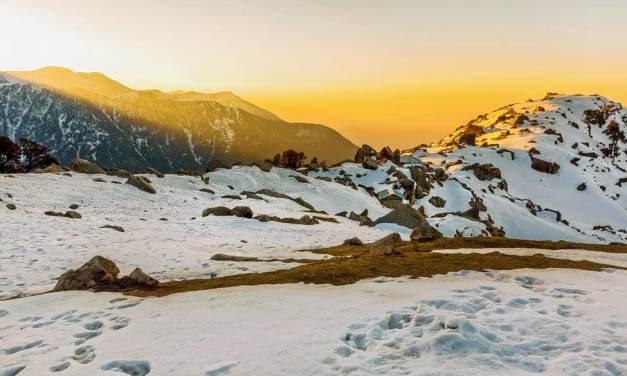 The one where it all began – a journey to the Triund Trek