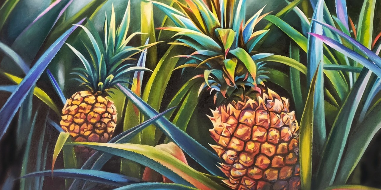Tropical delight- @luverno_art