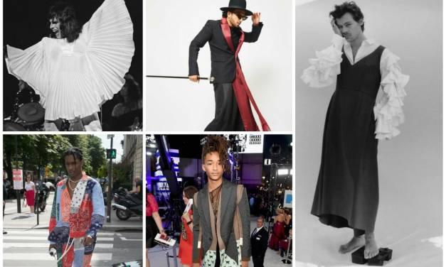 Male Celebrities Bashing Toxic Masculinity Through Fashion