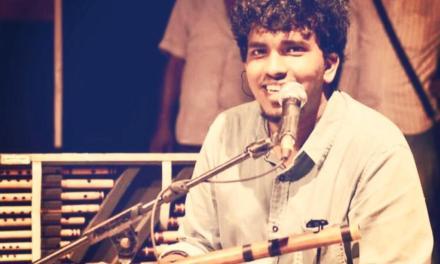 Rajeev Prasanna –  a budding flutist trained under the guidance of his father/guruji Pandit Ravi Shankar Prasanna
