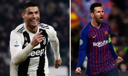 Messi and Ronaldo breaks Pele's record