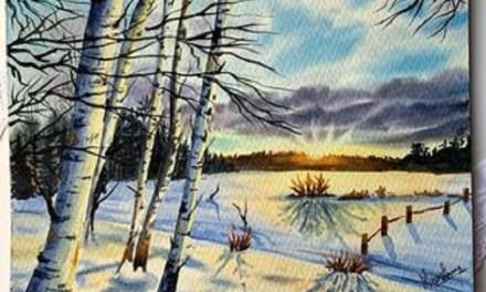 Chasing the winter sun – @theprettypaintpalette