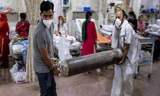 India's outrage over 'no oxygen shortage death data' claims center