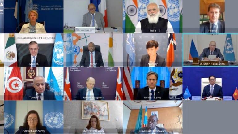 UNSC Meet on Maritime Security