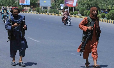 Afghan forces surrender to the Taliban