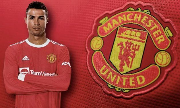 Cristiano Ronaldo comes back home to Manchester United