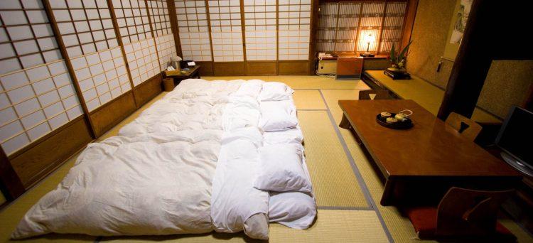 futón japonés