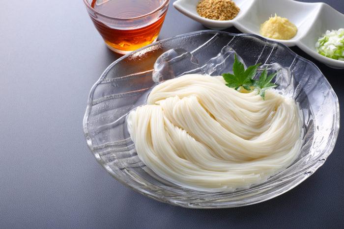Japanese noodle somen