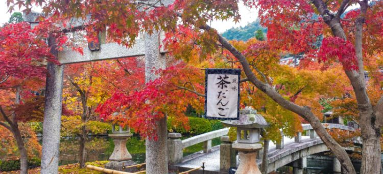 Autunno in Giappone a Kyoto