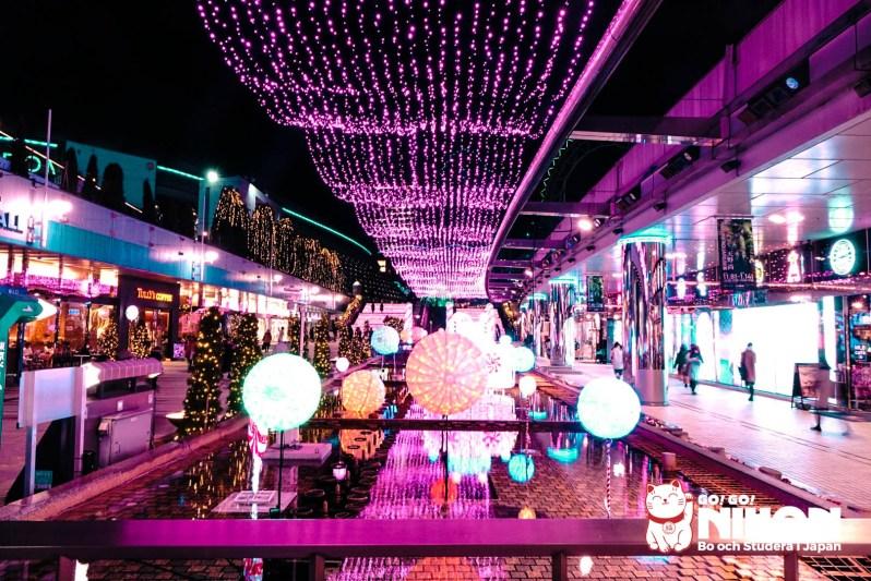 Christmas illuminations at Tokyo Dome