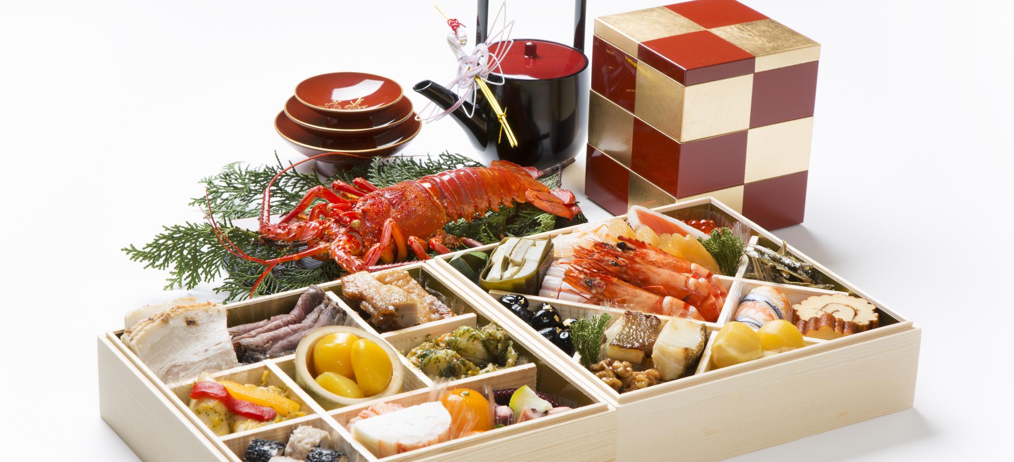 Osechi ryori Neujahrsessen in Japan