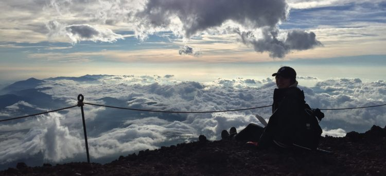 Mount Fuji besteigen
