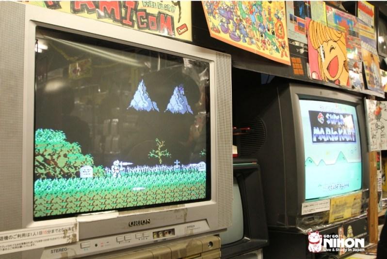 Best shops in Akihabara - Retro games