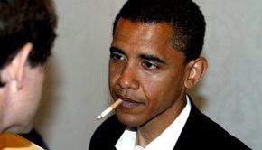 President Obama Smoking
