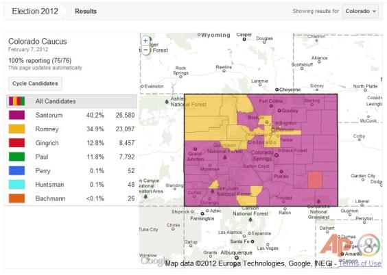 Colorado GOP Election Results
