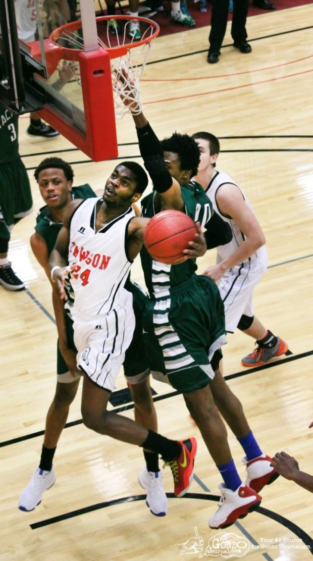 Darion Busby Dawson Community College Basketball