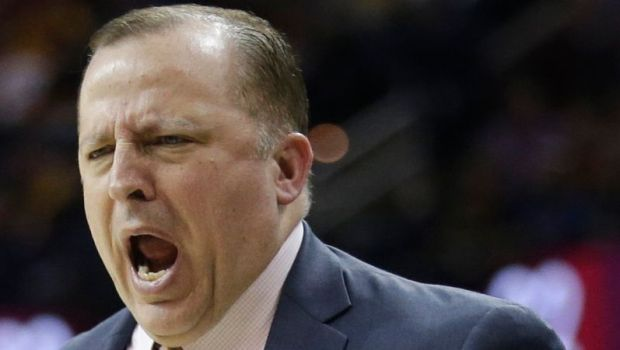 Minnesota Timberwolves Head Coach Tom Thibodeau