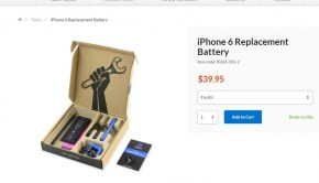 iFixit Stock Image of Smartphone Battery Replacement Kit