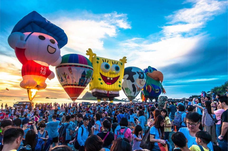 台東熱氣球,海綿寶寶球
