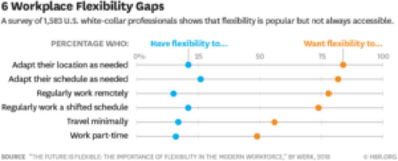 6 Workplace Flexibility Gaps
